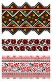 Ukrainian embroidery ornament Royalty Free Stock Photos