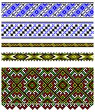 Ukrainian embroidery ornament Stock Photography