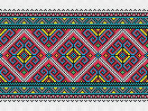 Ukrainian embroidery pattern Royalty Free Stock Images