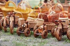 Ukrainian ethnic hand-made articles Royalty Free Stock Image