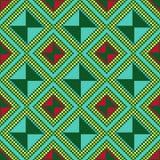 Ukrainian Ethnic multicolour broidery Stock Photo