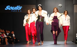 Ukrainian Fashion Week. Kiev, Ukraine, Alta-Expo. Editorial use only Stock Image