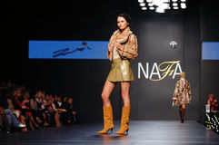 Ukrainian Fashion Week. Kiev, Ukraine, Alta-Expo. Editorial use only Stock Photo