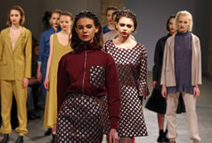 Ukrainian Fashion Week AW 2017/18: LAKSMI collection Stock Image