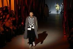Ukrainian Fashion Week: collection by Oleksiy ZALEVSKIY Stock Photos