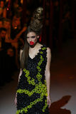 Ukrainian Fashion Week: collection by Oleksiy ZALEVSKIY Stock Photo