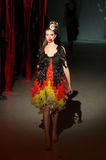 Ukrainian Fashion Week: collection by Oleksiy ZALEVSKIY Royalty Free Stock Photos