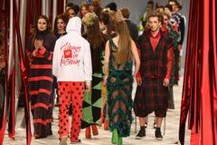Ukrainian Fashion Week: collection by Oleksiy ZALEVSKIY Royalty Free Stock Image