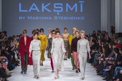Ukrainian Fashion Week in Kyiv, Ukraine Stock Photography