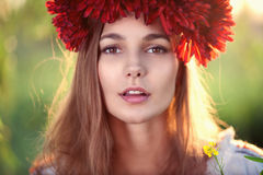 Ukrainian female model Royalty Free Stock Photos