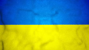 Ukrainian Flag Seamless Video Loop. A seamless video loop of the Ukranian flag waving. A great national icon, the flag of Ukraine in full glory. You can repeat stock video