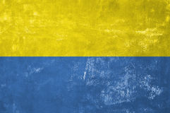 Ukrainian Flag. Ukraine - Ukrainian Flag on Old Grunge Texture Background stock photography
