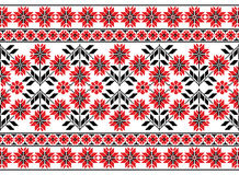 Ukrainian floral ornament Stock Photo