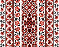Ukrainian floral ornament Royalty Free Stock Photo