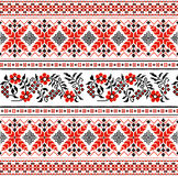 Ukrainian floral ornament Royalty Free Stock Images