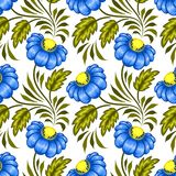Ukrainian floral pattern Stock Image