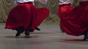 Ukrainian Folk Dance stock video footage