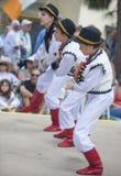 Ukrainian folk dancers Stock Photos