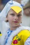 Ukrainian folk dancers Royalty Free Stock Image