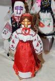 Ukrainian folk dolls 2 Stock Photos