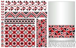Ukrainian folk embroider Royalty Free Stock Photography