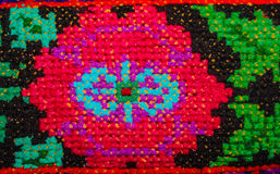 Ukrainian folk embroidery. Ethnic texture design. Background. Royalty Free Stock Image