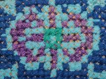 Ukrainian folk embroidery. Ethnic texture design. Background. Stock Images