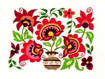 Ukrainian folk embroidery Stock Photography