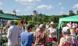 Ukrainian folk funfair Royalty Free Stock Photography