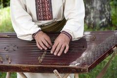A Ukrainian folk musician Royalty Free Stock Photo