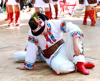 Ukrainian folk performance Royalty Free Stock Image