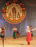 Ukrainian folk songs stock photography