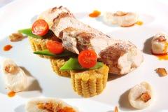Ukrainian food on a plate Stock Image