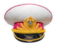 Ukrainian full dress military cap Stock Images