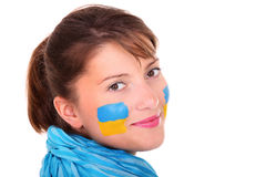 Ukrainian girl Stock Photography