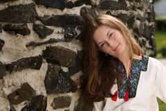 Ukrainian  Girl Royalty Free Stock Images