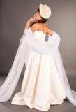 Ukrainian girl fashion, the bride Royalty Free Stock Images