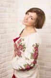 Ukrainian. Girl, mother's day celebration Stock Photography