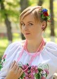 The Ukrainian girl Royalty Free Stock Photography