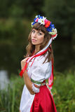 Ukrainian girl Royalty Free Stock Images