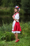 Ukrainian girl Royalty Free Stock Photography