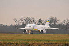 Ukrainian Government plane Stock Images