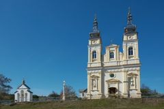 Free Ukrainian Greek Catholic Church Of The Nativity Of Blessed Virgin Mary In Krynytsya, Ternopil Oblast, Ukraine Royalty Free Stock Photos - 162305178