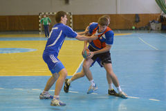Ukrainian handball championship 2015 Stock Photos