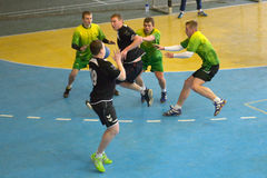 Ukrainian handball championship 2015 Royalty Free Stock Photography