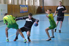 Ukrainian handball championship 2015 Stock Photography