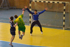 Ukrainian handball championship 2015 Royalty Free Stock Photos