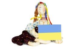 Ukrainian handmade doll Stock Image