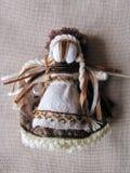 Ukrainian handmade folk doll Royalty Free Stock Images