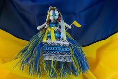 Ukrainian handmade textill folk doll Royalty Free Stock Photos